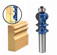 1PC Tenon Rail Stile Drill Bits Router Bit 1/2 polegada Shank Micro Grão Carbide Blade Wood Chisel Cutter Power Tool