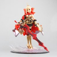 Wholesale saber lily pvc for sale - Group buy Fate Stay Night Red Saber Armour Lily Doll PVC Figure Collectible Toy cm KT4094