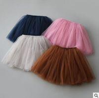 Wholesale Fancy Wholesale Clothing - TuTu Skirts 2017 Summer Tulle Babies tutu Skirt Gauze tutu Dress Baby Clothes Pettiskirt Dancewear Ballet Dress Fancy Skirts Costume 51