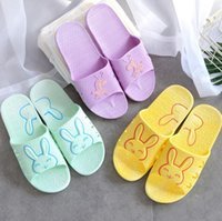 Wholesale Rabbit Horse - 2017 Fashion Non-Slip Rabbit - Horse pattern Home Slippers Indoor Floor Scuffs Shoes Sweat Slippers For Summer Women Sandals