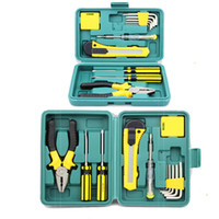 Wholesale tool kit for car repair - Profession 11 PCS Tool Set Box Hand Tool Kit For Home Car Repair Tool With Box Case