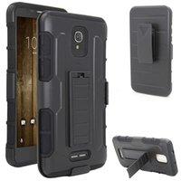 стоит оптовых-Высокое качество Anti-knock Мобильный телефон для TCL Alcatel pop 4 плюс телефонная крышка с подставкой 5.5inches Armor Phone Case