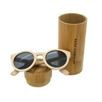 Wholesale China Eyeglasses Frames - Popular Holiday Accessary 100% Natural Maple Wood Full Frame Eyeglasses Unisex Men Women UV400 Sunglasses China Wholesale