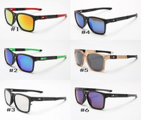 Wholesale Black Ken Block Sunglasses - 2017Free shipping Sunglasses Square Promotion Ken Block Cycling Sports Sunglasses Outdoor Brand Black Skin Snake Optic Cheap Hot 9272
