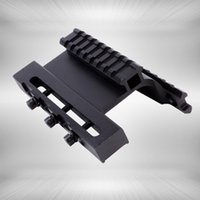 Wholesale Tactical Double Picatinny Rails - Tactical AK Series Gen 3 AK Double Weaver Picatinny Rail Side Mount System For AK74U Fit