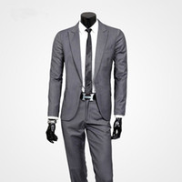 Wholesale Clear Dress Beads - Sell like hot cakes! New Arrival Men Suits Brand Spring Fashion Casual Slim Fit Business Dress Blazers Suits Blazer (Jacket+Pants+tie).