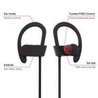 Wholesale Chinese Brand Android Phone - Q6 Bluetooth Sports Running Headphone Stereo Wireless Headset With Mic Handfree For Iphone Android Phones MP3 Music Player Free Shipping
