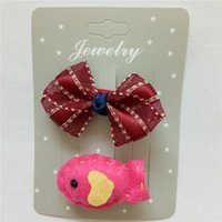 Wholesale Little Girls Wholesale Accessories - Hot Sale Children New Hair Clips Cute Crown Flowers Safety Barrettes BB Clip Little Girls Gifts Kids Hair Accessories