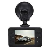 Wholesale Wide Angle Hd Camera - 2017 Christmas K6000 Car dvrs Camera 2.5 inch 100 Degree Wide Angle car dvr Night Vision Cycle Recording Car Dash Camcorder
