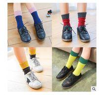 Wholesale Knee High Socks For Toddlers - Christmas Socks Kids Cotton Girls Boys Spring Autumn socks Knee High Socks For Toddler Girl Clothing Accessories Christmas 1-7Y
