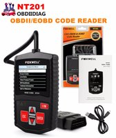 Foxwell OBD2 NT201 Universal EOBD CAN Scanner Automotive Engine Code Reader Scan Diagnostic Tool