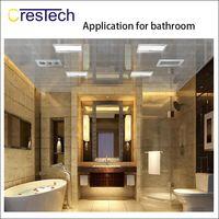 Wholesale heated beds resale online - LED panel lights kitchen bathroom bed room home office LED light AC85 V ft LED ceiling lamp aluminum housing and heat sink