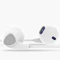 Wholesale Earpods Earphones - Brand IM500 Earphone Headphones Noise Canceling Headset with Microphone Stereo Earpods for mobile phone iPhone Xiaomi MP3 Gaming