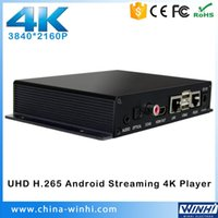 Großhandel 3840 x 2160p H.265 Android 4.4 Full HD Media Player Digital Signage Spieler