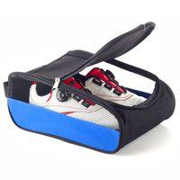botas portátiles al por mayor-Portátil Breathable botas de fútbol caja de almacenamiento a prueba de polvo zapatos de fútbol bolsa de deportes de rugby golf travel carry case