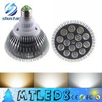 Wholesale Par38 Led 36w - X20 Indoor light CREE E27 PAR20 PAR30 PAR38 Light Bulb Lamp 9w 10w 14w 18w 24w 30w 36W Led bulbs non-dimmable AC110-240V SPOTLIGHT downlight