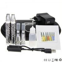 Wholesale Ego K Double Kit - Ego K Double Kit CE4 King CE4 Large Kits CE4 Clearomizer Ego Battery 650mal 900mal 1100mal