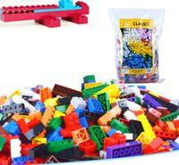 Wholesale Toys Bulks - 1000pcs lot DIY Bulk Building Blocks 14 Types 10 Colors Building Bricks Construction Brick Building Blocks Toys for Kids