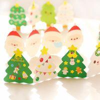 Wholesale Good Greeting Cards - Wholesale- 5sets  lot Creative Handmade DIY 3D Postcard Birthday Christmas Folding Blank Greeting Card Hot Sale Good Quality Cartoon WZ