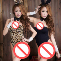 Wholesale Sexy Bunny Adult Costume - Free shipping Cosplay lingerie passion suit sexy bunny rabbit mounted sm Contains Adult Siamese Sao uniforms cute little chest