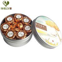 Wholesale Orange Peels - 100g Shu Puer Tea 17pcs Mini Tuo Cha Orange Peel Flavor Pu erh Tea for Slimming Shu Puerh Tea Free Gift Infuser Organic Pu er Te