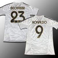 Wholesale David Beckham - Real Madrid jersey 2004-05 season restoring ancient ways David Beckham, zinedine zidane, ronaldo, raul