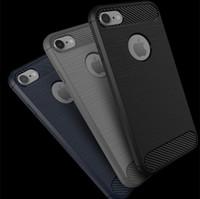 Wholesale Cheap Hot Phone Cases - For Samsung Galaxy J7 2017 J7 Perx J7V J7 Prime J5 Prime J710 J510 J3 J2 J1 Ace Hot Cheap Carbon Fiber Soft Hybrid Armor Smart Phone Case