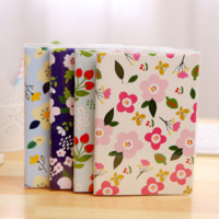 Wholesale Fruit Pages - Wholesale- 1Pcs set Kawaii Fresh Fruit Flowes Colored Page Schedule Planner Notebook Diary Notepad Promotional Gift Stationery