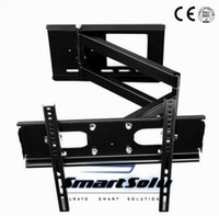 Universal Full Motion TV Suporte de TV retrátil para parede para 23 ~ 47 polegadas LCD LED Plasma TV Rack Vesa 400x400mm
