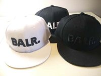Wholesale Leather Hat Buckles - 2016 hats for Men&Women balr New Arrival Balred caps leather buckle PU metal adjustbale buckle Baseball sport Cap Hip Hop hat free ship