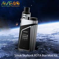 SMOK SKYHOOK RDTA BOÎTE MOD Starter Kit-Big Side Barre de tir 220W Max Power Confortable de maintien et d'utilisation 100% Original