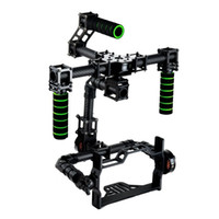 Wholesale Glass Toys Handle - 3 axis DSLR Brushless Gimbal Glass Fiber Handle Camera Mount DSLR 5D GH3 with motor for FPV Photography(With the motor)