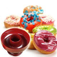Wholesale Donut Maker Mold - 2015 DIY Fondant Cake Bread Desserts Bakery Mould Tool Cute Donut Mould Mold Maker Cutter