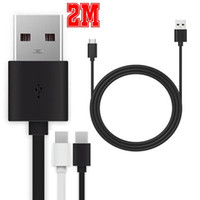 câble de synchronisation usb sync achat en gros de-1m 2m Micro V8 5Pin USB 3.1 Type C Câble Type-C vers USB 2.0 Un câble de synchronisation de données pour Nokia N1 Google Nexus 5X / 6P ZUK Z1 pour Samsung Galaxy S8