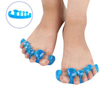 Wholesale Massaging Gel - Fashion Gel Toe Stretcher Separator Reduces Foot Pain Yoga Health Massage Relief protector Tool S M L Size
