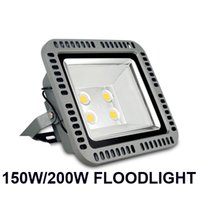 Wholesale project green light online - 150W W Led floodlights outdoor high bright red green blue yellow color LED flood lighting Landscape project lights waterproof AC V