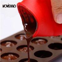 Wholesale Mini Baking - DIY Silicone Chocolate Mini Mixed Melting Pot Butter Milk Heat Microwave Mold Kitchen Baking Tools