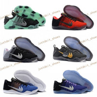 Wholesale Cheap Kids Fur Boots - Children Kobe 11 XI Elite Low Basketball Shoes Women child kids 2017 Retro KB 11s Boots Sneakers Cheap EP Trainer Sports Shoes Eur 36-40