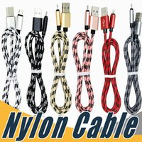 Wholesale More Usb - High Speed Micro USB Cable Nylon Braided Charging Data Sync Cord Universal For Samsung LG HTC HUAWEI and More