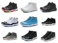 Wholesale Ivory Lace Satin Shoes - Good Quality Factory Outlet Air 11 Retro Mens Basketball Shoes Blue Pantone Womens 11s Retro Shoes XI US5.5 13