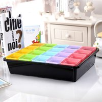 Wholesale Nursery Trays Wholesale - Grow Seedlings Basin Black Rectangle Plastic High Quality Flowerpot Tray Family Garden Sorting Box Hot Sell 6 5hy H1 R
