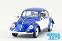 Wholesale Toy Metal For Die Casting - KINSMART Die-Cast Metal Model 1:24 Scale 1967 Volkswagen Classical Beetle Special toy for children's gift or collection