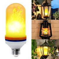 Wholesale Fire Antiques - LED Flame Effect Light Bulb for Christmas E26 E27 1300K Nature Fire effect - Antique Lantern Atmosphere for Christmas Hotel Bars