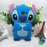 Wholesale Galaxy Grand Cute Cases - 3D Stitch Soft Silicone Case For Samsung Galaxy A3 A5 A7 J3 J5 J7 2017 J2 J5 J7 Prime Grand Prime G530 G531 Cute Cartoon Back Cover