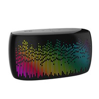 Wholesale dance touch - Colorful Music LED dance lights Pulse Speaker S-52 Soaiy Touch Bluetooth Speaker with LED Spectral lamp effects TF Card MP3 player Subwoofer
