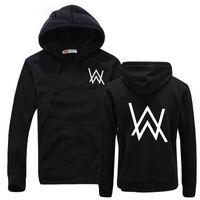 Wholesale Dj Clothing - Fashion Men Sweatshirts Music DJ Divine Comedy Alan Walker Faded Coat Hoodies Sweatshirts Men Pullovers Brand clothing