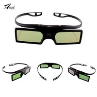 Atacado- 1pc G15-BT Bluetooth 3D Shutter Active Glasses para Samsung para Panasonic para Sony 3D TV Universal TV 3D Óculos