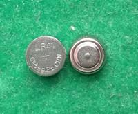 Wholesale Battery Lr41 - 10000pcs Lot Factory wholesale AG3 LR41 392 SR41 192 0%Hg Pb alkaline button cell battery -Mercury free