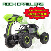 Wholesale Lynrc RC Car Buggies WD GHz Rock Crawlers Rally climbing Car x4 Double Motors Bigfoot Car Remote Control Model Off Road Vehicle Toy