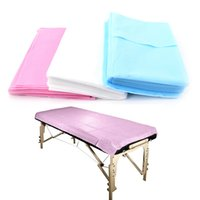 Wholesale Disposable Massage Sheets - Free Shipping 70*170CM,80*180CM ,Soft Breathable Non-Woven Disposable Bed Sheet Massage Beauty Cover Beauty Salon Medical Consumables